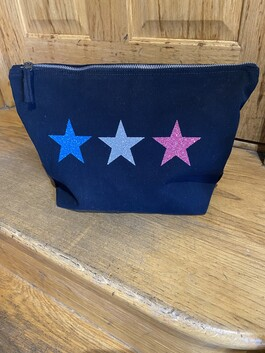 Large Canvas Makeup Bag