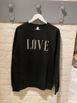 Printed 'LOVE' Jumper
