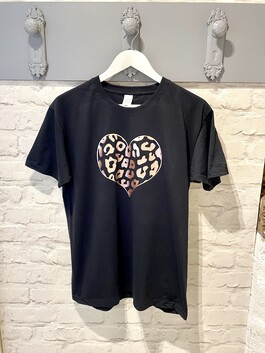 Rose Gold Heart T-shirt